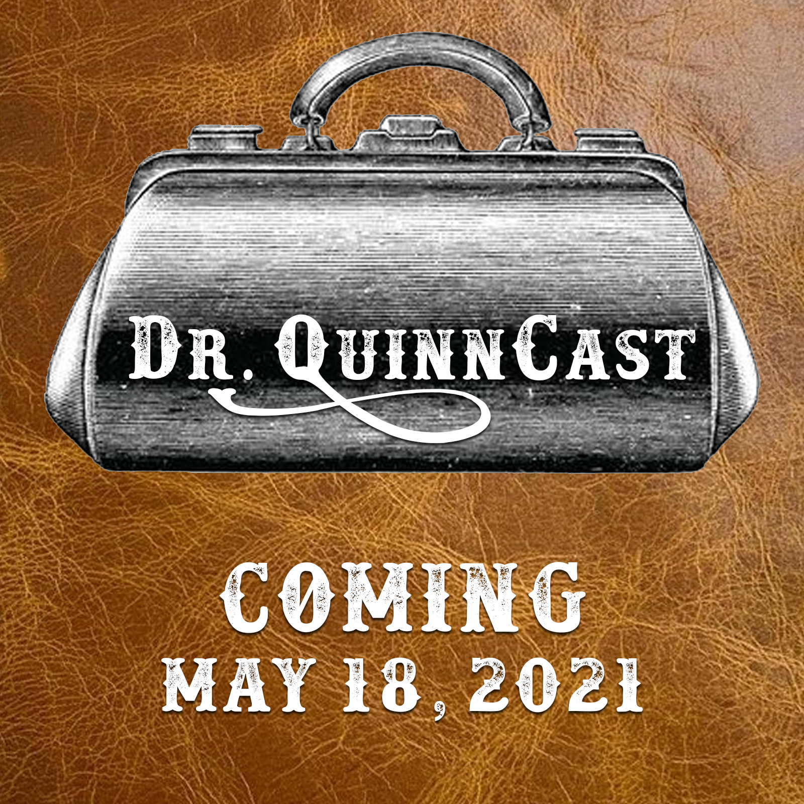 dr. quinncast coming soon logo
